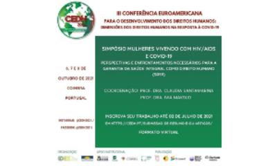 Capa_Conferência Euroamericana para o Desenvolvimento dos Direitos Humanos (CEDH)