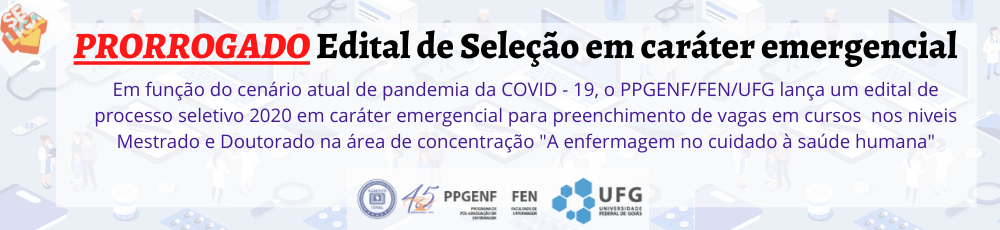 Edital emergencial COVID-19