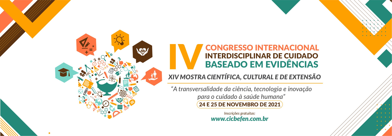IV Congresso Internacional Interdisciplinar de Cuidado Baseado em Evidências