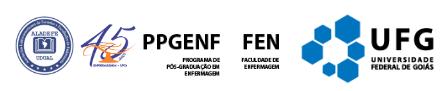 Logo PPGENF/FEN/UFG
