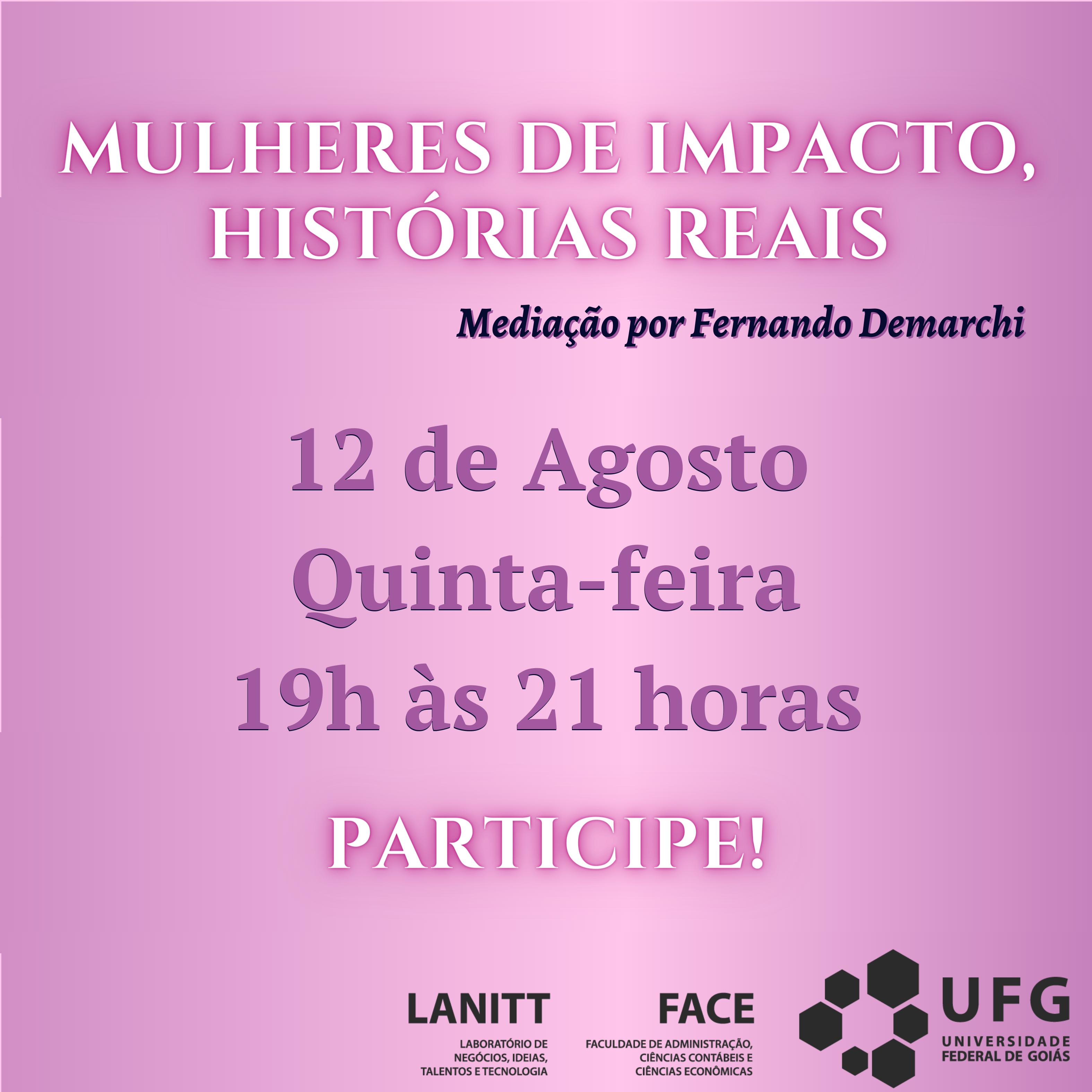 Mulheres de Impacto Evento 3a ed