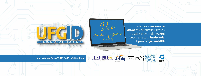 Banner da campanha UFG ID