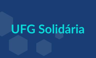 Imagem sobre a UFG Solidária
