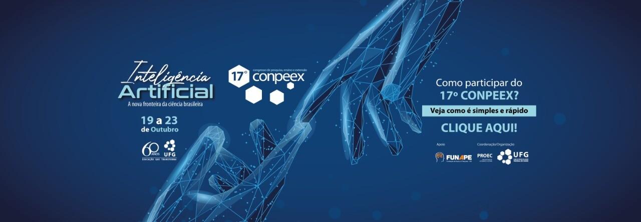 Banner sobre como participar do CONPEEX 2020