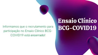 recrutamento encerrado (ensaio clínico BCG-COVID19)