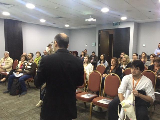 Apresentação oral no evento