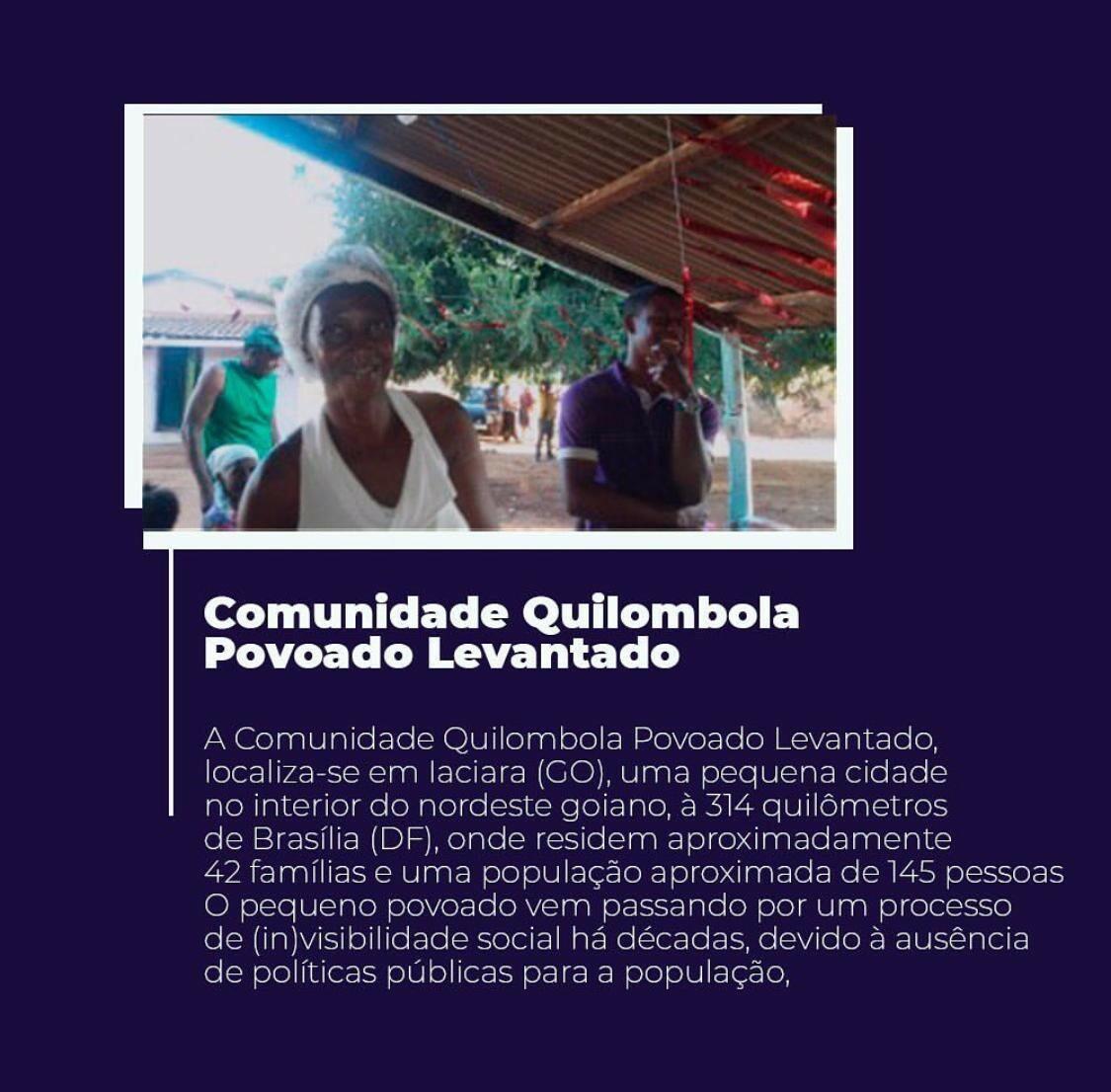 Comunidade Quilombola Povoado Levantado