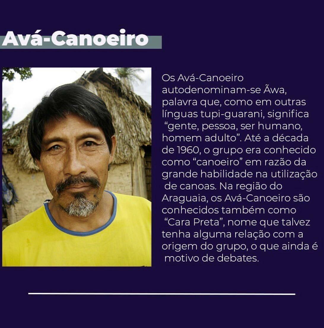 Indígenas Avá-Canoeiro