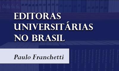 Artigo - Editoras universitárias no Brasil