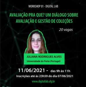 Workshop 01 - Juliana Alves - 11 de junho de 2021 - feed