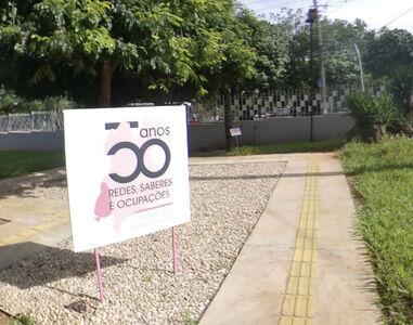 Capa Jardim das Descobertas - 50 anos Museu Antropológico UFG