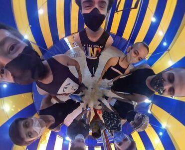 Circo 360º gravados na Escola Basileu França em Goiânia