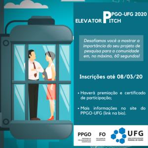 Elevator Pitch 2020