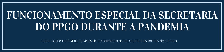 Funcionamento secretaria