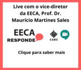 Live para responder dúvidas ocorrerá às 19h do dia 09/07/2020