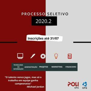 Processo Seletivo PoliUFG - 2020