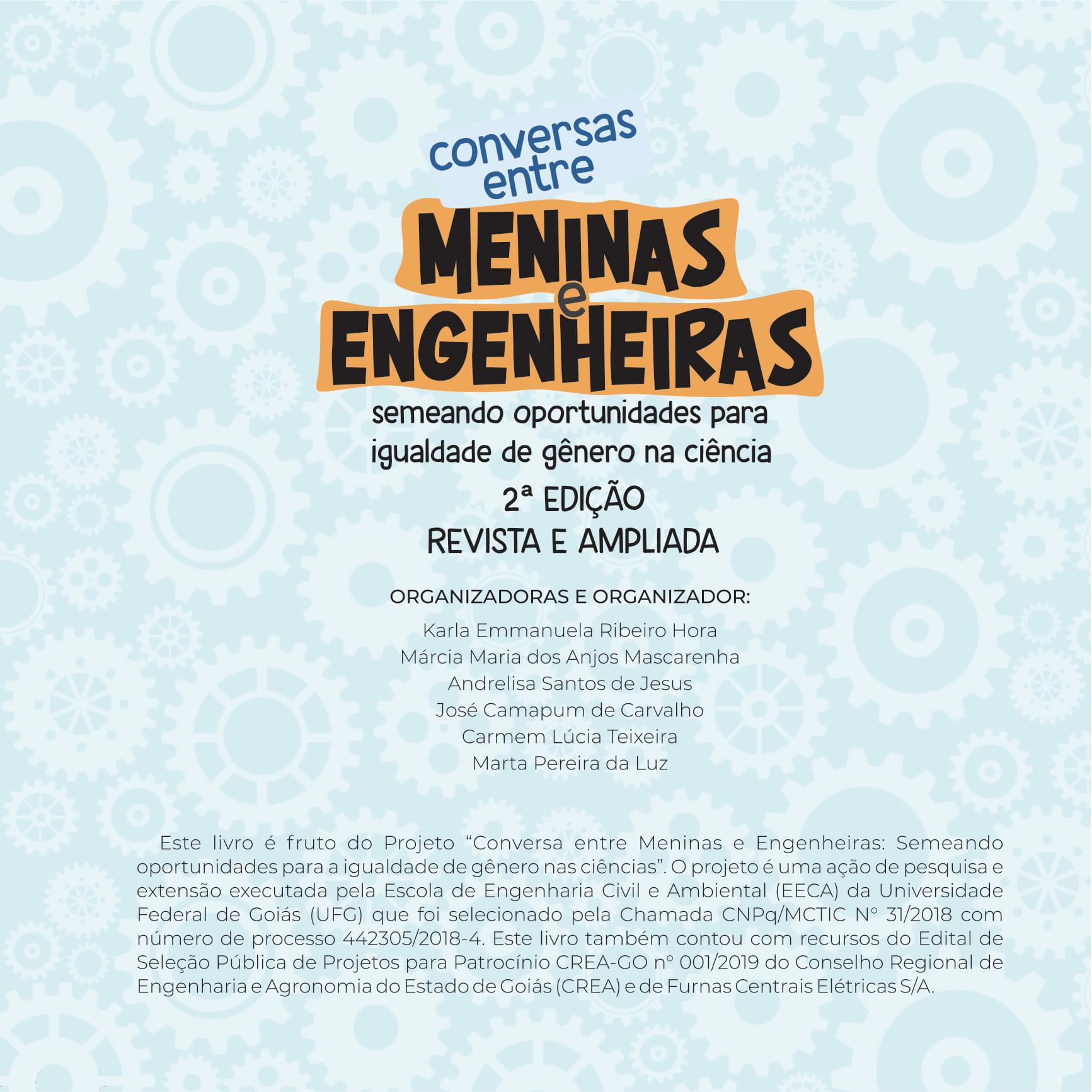Conversas Entre  Meninas Engenheiras - 2 Edição - Capa
