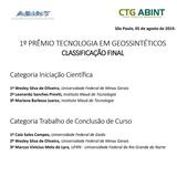 1 Prêmio Tecnologia em Geossintéticos