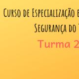 Nova Turma 2019 - CEEST