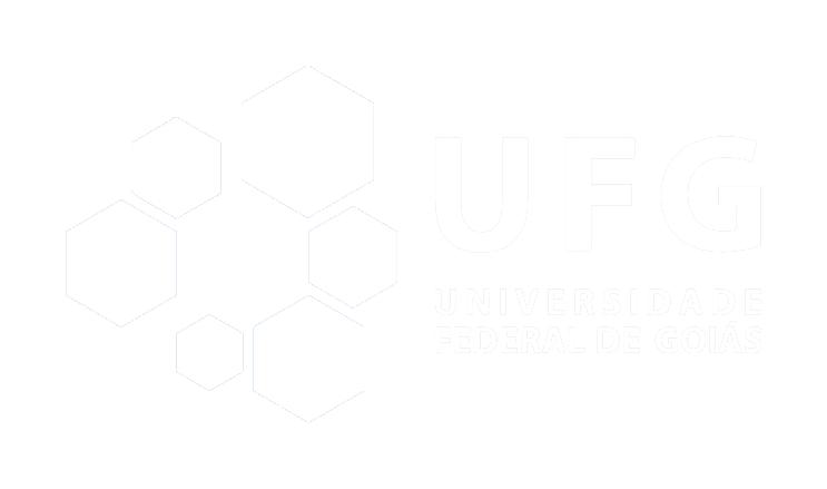 Logo UFG Branco Horizontal