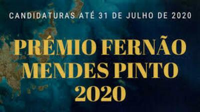 Prémio Fernão Mendes Pinto (Edição 2020)