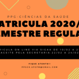 MATRICULA - SEMESTRE REGULAR 2021/1