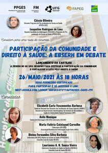 Lançamento do PTT do mestrando Cassio H. A. Oliveira