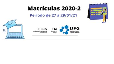 Matrícula 2020-2