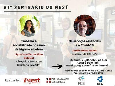 Cartaz do 61 Seminário Nest