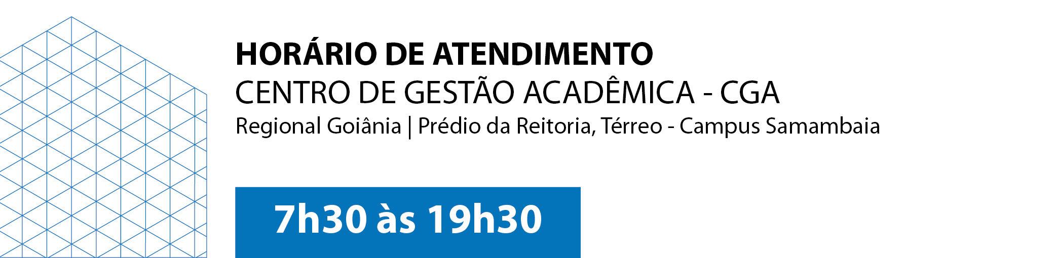 Banner CGA Horário