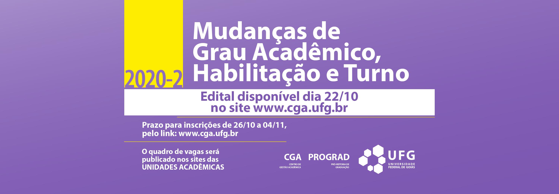 Edital Mudanças de grau, turno e Habilitação 2020 2 banner