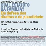 Ciclo Nacional de Debates - Qual Estatuto da Família?