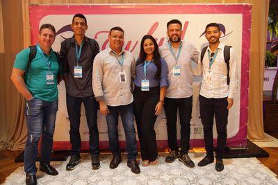 Colaboradores da SeTI e Corcomp participaram do WTICIFES em Cuiabá (MT)