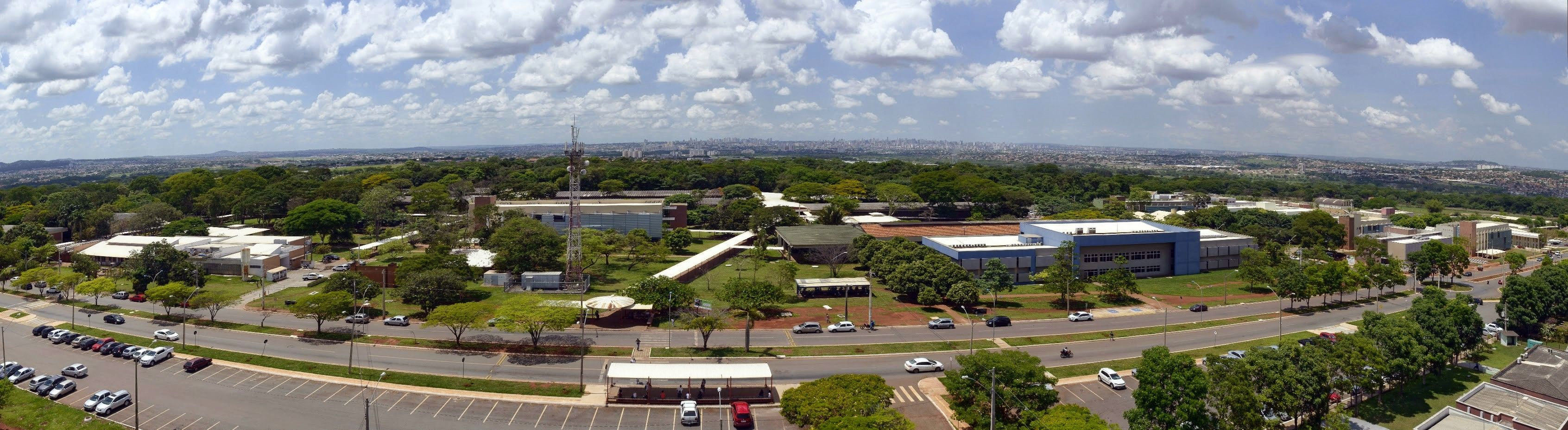 Foto aérea do campus 2.