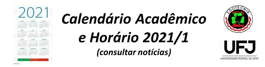 Calendário 2021/1