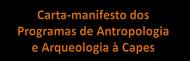 Carta-manifesto PPGAS 2