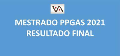 Seleção Mestrado PPGAS 2021 - Resultado FINAL
