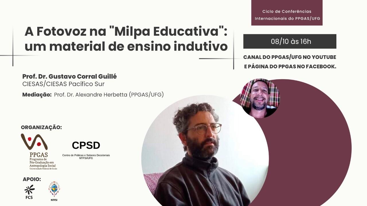 2a Edição Ciclo de Conferências Internacionais - Prof. Dr. Gustavo Corral Guillé - 01 - Banner