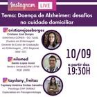 Divulgação live Alzheimer