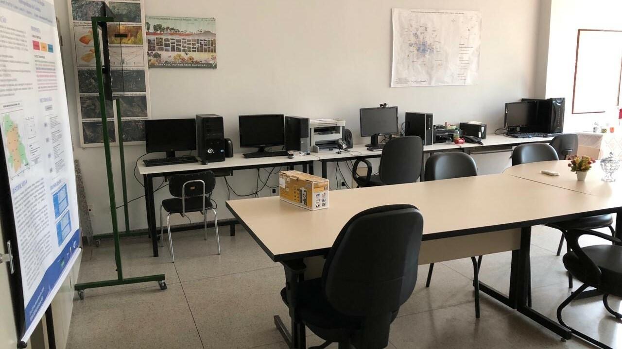 imagem do laboratório