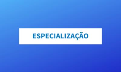 Capa - Especialização