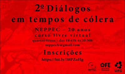 Diálogos em tempos de cólera 2021