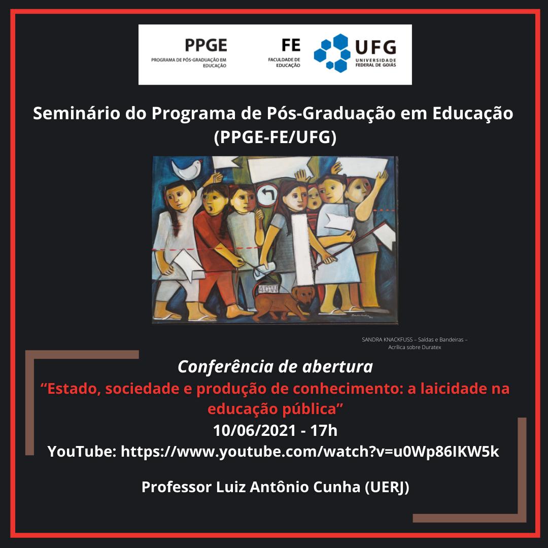 Seminário PPGE 2021 Conferência de Abertura