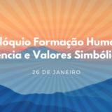 Capa - I Colóquio Formação Humana, Ciência e Valores Simbólicos