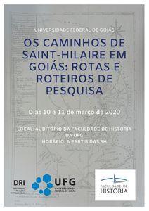 Os Caminhos de Saint-Hilaire em Goiás