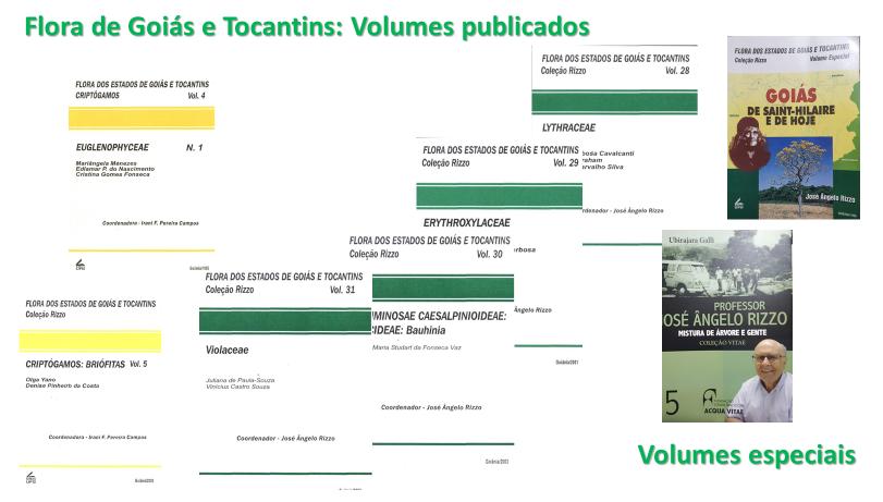 volumes da flora