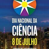 Hoje dia 08 de julho, comemora-se o DiaNacional da Ciência