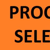 Imagem na qual aparece o texto processo seletivo