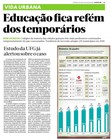 Educação refém dos temporários