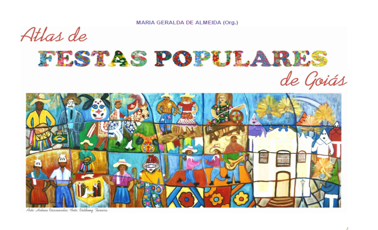 Capa livro Atlas de festas